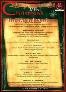 Fabios Swindon Christmas Main Menu