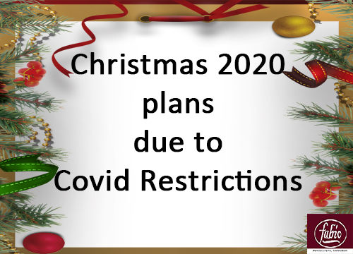 christmas 2020 plans due to covid restrictions
